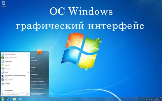 ОС Windows: графический интерфейс